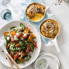 Take your salad game to the next level with this Chargrilled Pumpkin Salad. Christmas Lunch, Christmas Recipes, Prawn Salad, Pumpkin Salad, Vegetarian Bake, How To Make Pumpkin, Xmas Food, Roasted Turkey, Salad Recipes