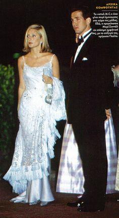 Prince Pavlos and Marie- Chantal.