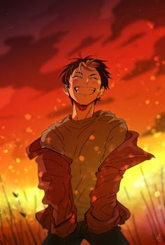 Haikyuu Nishinoya, Manga Haikyuu, Manga Anime, Haikyuu Fanart, Fanarts Anime, Kagehina, Anime Characters, Anime Boys, Cute Anime Guys