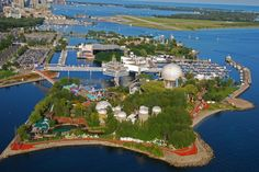 Ontario Place, Toronto, Canada... it's such a huge part of my childhood. I've been there countless times, and would definitely go back one day!
