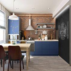 How to Create an Impressive Scandinavian Kitchen - Des Home Design Kitchen Decor, Interior Design Kitchen, Farmhouse Kitchen Design, Kitchen Design Open, House Interior, Scandinavian Kitchen, Cool House Designs, Kitchen Interior, Home Kitchens