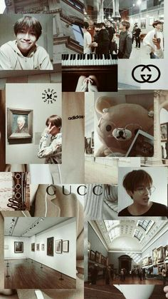 There's my little Gucci boy Bts Aesthetic Wallpaper For Phone, Aesthetic Pastel Wallpaper, Aesthetic Wallpapers, Taehyung Selca, Namjoon, Tumblr Wallpaper, Bts Wallpaper, Bts Backgrounds, Kpop