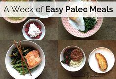 A Week of Easy Paleo Meal Ideas