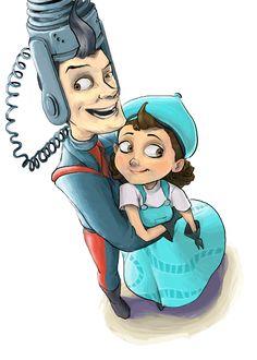 Meet The Robinson, Robinson Family, Disney And Dreamworks, Disney Pixar, Gaston, Gravity Falls, Character Concept, Concept Art, Batman
