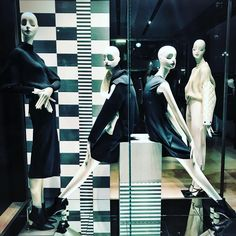"Everything seems so much clearer in black & white"", photo by pinned by Ton van der Veer Display Window, Text On Photo, Store Windows, Boston Massachusetts, Max Mara, Visual Merchandising, Monochrome, Van, Black And White"