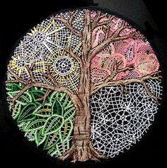 Bobbin Lace Patterns, Decor Inspiration, Textile Fiber Art, Lace Heart, Point Lace, Lace Jewelry, Needle Lace, Lace Design, Lace Detail