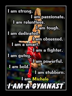 ArleyArt - Sport motivational wall decor and posters. Gymnastics Facts, Gymnastics Quotes, Gymnastics Posters, Motivational Posters, Quote Posters, Character Qualities, I Am Strong, Sport Motivation, Photo Quotes