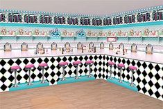 50s Sock Hop Party Ideas and party supplies to plan your 1950s sock hop theme party at ReasonToParty!