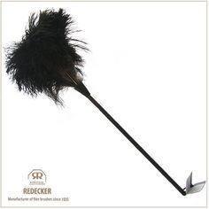 [REDECKER/レデッカー]オーストリッチ羽はたき(80cm/Black)