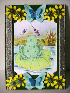 card for the creative freebie challenge on the Outlawz,image from Anne Fenton.