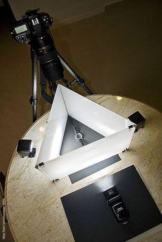 Talk about making things work.  -  Poor Man's light setups.