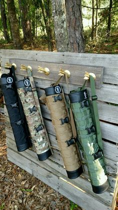 Quivers that attach to your pack