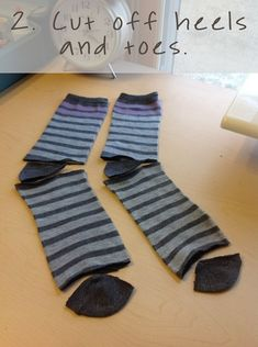 DIY baby leggings from socks {Lovera Loft}