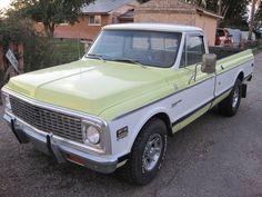 1972 Chevy C20 Cheyenne Super, 402 BBC, WORKING A/C, tilt wheel, new paint!!!, image 1