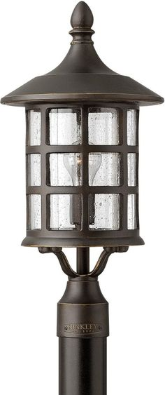 0-015249u003eFreeport 1-Light Fluorescent Large Outdoor Post Light Oil Rubbed Bronze  sc 1 st  Pinterest & Kogan Post Light - Hand-turned in copper. This lantern is in the ...