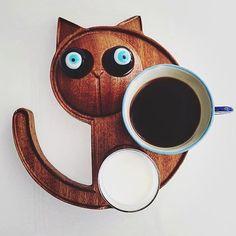Cat Lover, Like4like, Mugs, Tableware, Wood, Instagram Posts, Design, Dinnerware, Woodwind Instrument