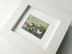 Check out this item in my Etsy shop https://www.etsy.com/uk/listing/500242654/a-felted-and-hand-embroidered-sheep