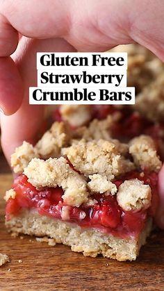 Healthy Dessert Recipes, Healthy Baking, Delicious Desserts, Yummy Food, Healthy Cookies, Gluten Free Deserts, Gluten Free Recipes, Baking Recipes, Summer Desserts