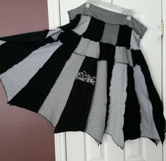 recycled tee skirts (ladies $25), one-of-a-kind www.penelopepicklebottoms.com