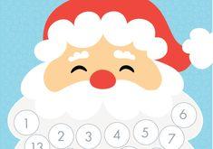 Free+Printable+Santa+Countdown+Calendar