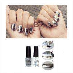 2.99$ (Buy here: http://alipromo.com/redirect/product/olggsvsyvirrjo72hvdqvl2ak2td7iz7/32724108939/en ) 2pcs Metallic Polish Professional Gel Nails Silver Gel Nail Varnishes Metal Glue Gel Top And Base Coat Gel Nail Polish for just 2.99$