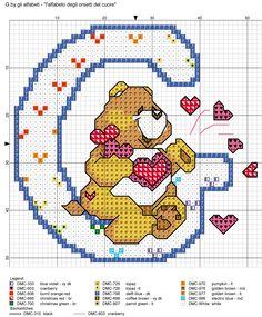 alfabeto degli orsetti del cuore: G