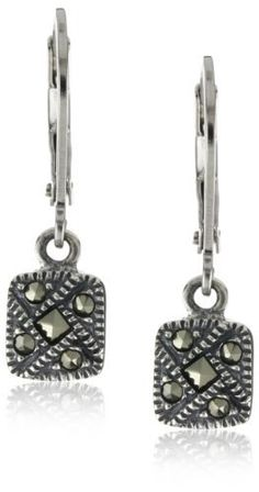 Judith Jack Sterling Silver Marcasite Square Drop Earrings Judith Jack. $50.00. These easy to wear earrings are the perfect gift. Earrings contain lever back closure for easy comfort. Perfect for gift giving. Earrings contain lever back closure for easy comfort Made in TH. Made in Thailand