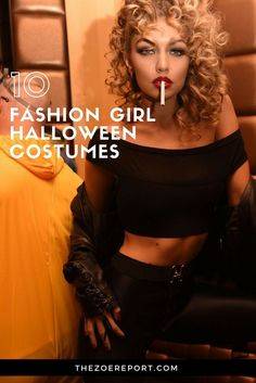 Here are 10 fashion girl halloween costumes that are anything BUT basic. Our favorite fashion girls have worn them– from Gigi Hadid to Miranda Kerr