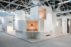 / Ariostea surface container at Cersaie 2013 by Marco Porpora Bologna Italy /