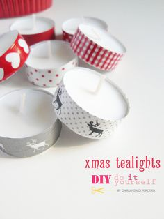 Use washi for a merry xmas