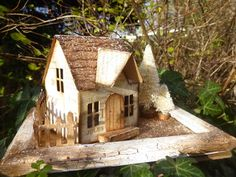 Words and Pictures: In a cottage, in a wood... Tim Holtz Village Dwelling die