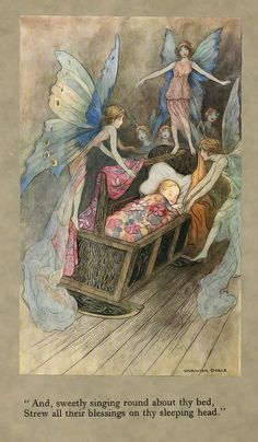 "Warwick Goble This was the image I used on our ""welcome baby"" cards for my little one - MAGIC!"