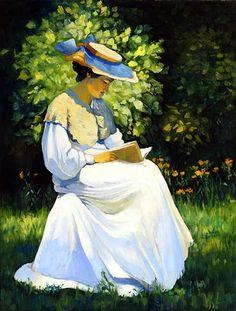 Women Reading - simena: Wilhelm Lefèbre