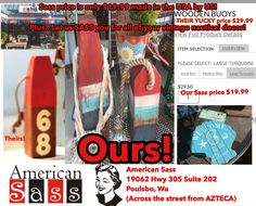Buy local for nautical at American Sass! ⚓️