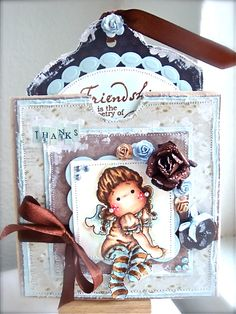 Sitting Angel Tilda, Merry Little Christmas, magnolia stamps