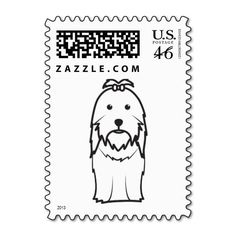 a6f82baef1 Shih Tzu Dog Cartoon Stamp Shih Tzu Dog