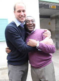 May 2013.  William is firm friends with the CEO Seyi Obakin and joined him in a challenge to sleep rough in 2009 in aid of the charity