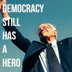 Bernie Sanders, A Great Humanitarian, An American Hero! #Vote4Bernie4Prez. #BernieOrBust. #FeelTheBern.