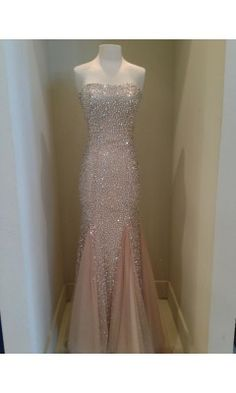 Cinderlla Prom Crystal Embellished evening Dress - oh my goodness oh my goodness I love this SO SO MUCH