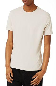 TOPMAN Slim Fit Crewneck T-Shirt. #topman #cloth #