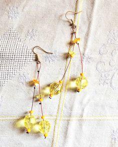 Long flower earrings Flower Earrings, Drop Earrings, Long Flowers, Jewelry, Jewlery, Jewerly, Schmuck, Drop Earring, Jewels