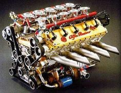 Alfa Romeo 3.5 L V10 Engine