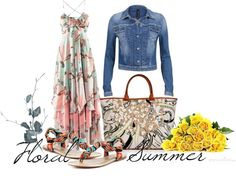 """Floral Summer"" by mykkerz on Polyvore"