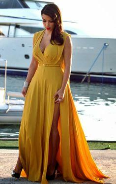 stunning long dress fashion summer long maxi fashion women clothing outfit style apparel ring night