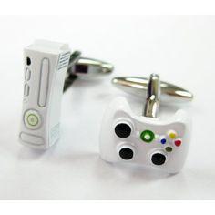 King of the Video Games Xbox 360 Game Controller Fun Cufflinks : Geek N Gamer