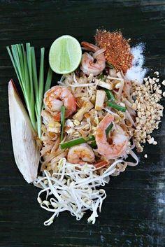 King prawn pad thai