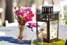 Wedding Reception Table Details Stock Image - Image of venue, flower: 32922517 Wedding Reception Tables, Wedding Chairs, Mini Terrarium, Table Arrangements, Vineyard Wedding, Rustic Feel, Home Decor Inspiration, Flower Vases, Tablescapes