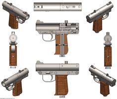 Shotgun Pistol - SOLIDWORKS - 3D CAD model - GrabCAD