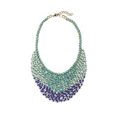 Add a splash of color to any look with a beaded bib necklace. Try it with contrasting colors like yellow or coral for a bright summery feel. (Stitch Fix Griselda Beaded Drape Necklace)
