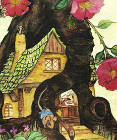 """""""Mis' Luci finds Moses"""" from """"Mis' Luci"""", written and illustrated by Beverly Rose, 1979"""